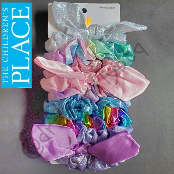 NWT! TCP Hair Scrunchie Set of 10, New in Package